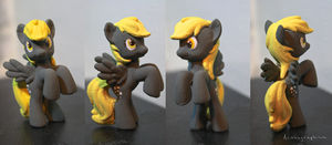 Derpy Hooves - Blind Bag Repaint by Alithographica