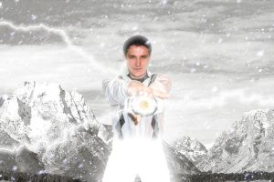 Its Morphin Time White by MostlyMichael