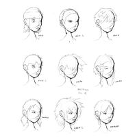 Hair Styles Vol 5 by ron-guyatt