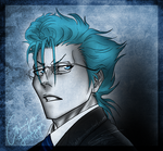 BLEACH: megane Grimmjow by blackstorm