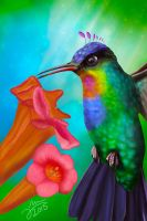 Hummingbird evolution by Arkel666