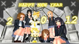 HAPPY NEW YEAR 2012 by DeathNoteE