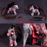 My Demon Pony Shaun Zombie MLP by Undead-Art