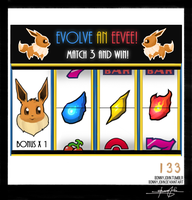 Eevee!  Pokemon One a Day! by BonnyJohn
