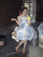 popcorn dress 1 by klindicative