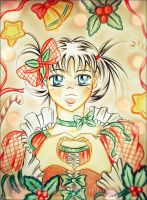 Christmas Heart by papirous