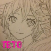 My Teto Drawing by Myindiansummer