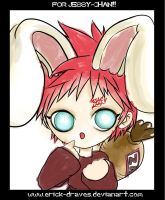 CHIBI USAGUI GAARA: For Jessie by Erick-Draves