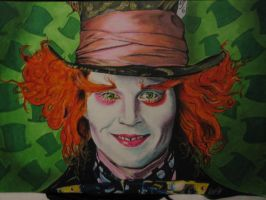 Johnny Depp Mad Hatter by Korpedo