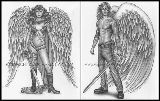Warrior Angels by MJWilliam