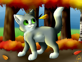 Autumn leaves by Frostleaf9