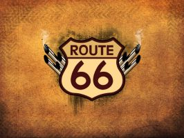 -. Route66 .- by crimecontrol