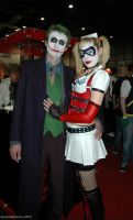 Joker and Harley Quinn by ArcaneArchery