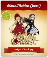 Rozen Maiden (2013) v2 - Anime Icon by Darklephise
