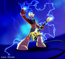 Electrick guitar by zavraan