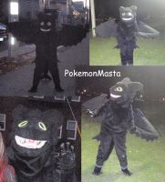 Night Fury Costume COMPLETE by PokemonMasta