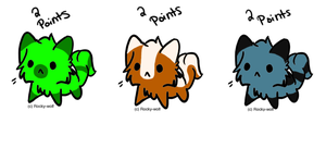 ~!Adoptables~Set~4!~(2 left!) by Microdigit