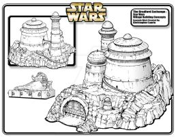 Star Wars Jabba's Palace by toymaker-cl