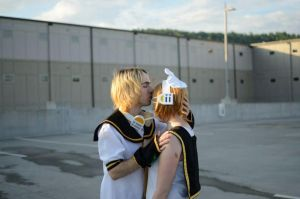 Cos: Forehead Kiss by Sketch75