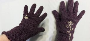 Picot Edged Gloves by riizu