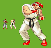 Ryu Retro by miicho