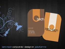 ZeroTech Corporate Cards by furryyx