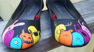 Little Monster Shoes I by ChumpShoes