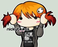 Hayley Williams by NickyToons