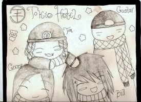 Tokio Hotel Chibi by lovers-night
