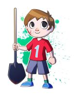 Animal Crossing Villager by Nellufy
