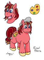 MLP OC: Easel Palette by Captain-Marvelous