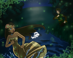 Zutara Week -Fireflies- by Darkbutterfly137