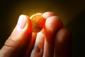 Mystical coin by Hankins