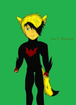 ..XAce T. Reploid(Request)X.. by xAstridxHedgehogx