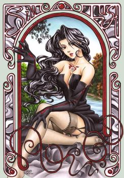FMA Lust and Art Nouveau by Petey-Winter