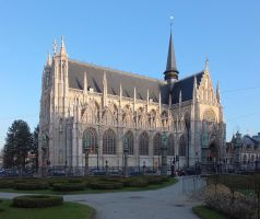 Church of our Blessed Lady of the Sablon by Smaragd01