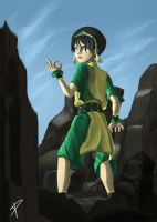 Toph Beifong by DarthPonda