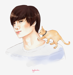cathun and jongin by heybambie