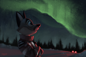 North Fox by Greevixor
