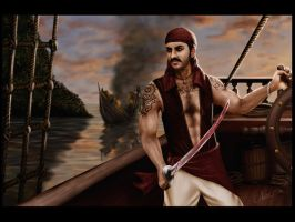 Bhadhran the pirate by shwaaz