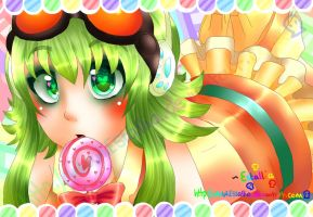 CANDY CANDY - GUMI by Estallia