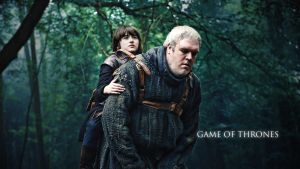 Bran and Hodor - Wallpaper 1920 x 1080 by Greev