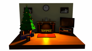 Low Poly Workshop Christmas Contest Entry by thepapercraftcouple
