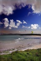 Kitesurfing in Barra I by paddimir