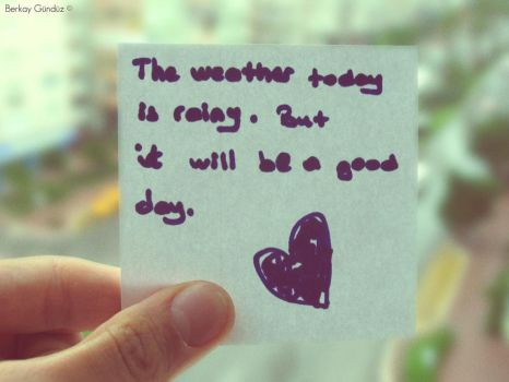 The weather today by erolberkay298