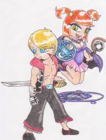 Tim and Ricci by DrMadison