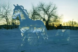 Ice Sculpture the 3rd by Piebald111