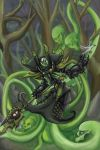 Warmachine Asphyxious  (commission) by gorrin