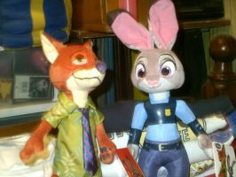 Zootopia Plushes by HectorNY