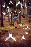 I was like a bird by Lucie-Lilly